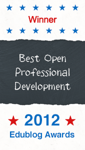 Winner, Best Open PD, 2012 Edublog Awards